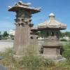 大理石仿古石雕灯塔