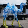 供应高彩绘骆驼雕塑